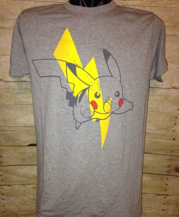 c5a53b1f0 Pokemon Pikachu Wink Bolts Mf Juniors T-shirt · #women Cool Pikachu  Lightening Bolt T-shirt
