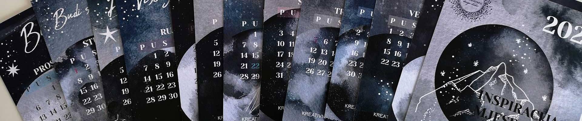 """Maja Škiljaica predstavlja nam """"Inspiration kolekciju"""" kalendare osmišljene srcem i daškom pozitive!"""