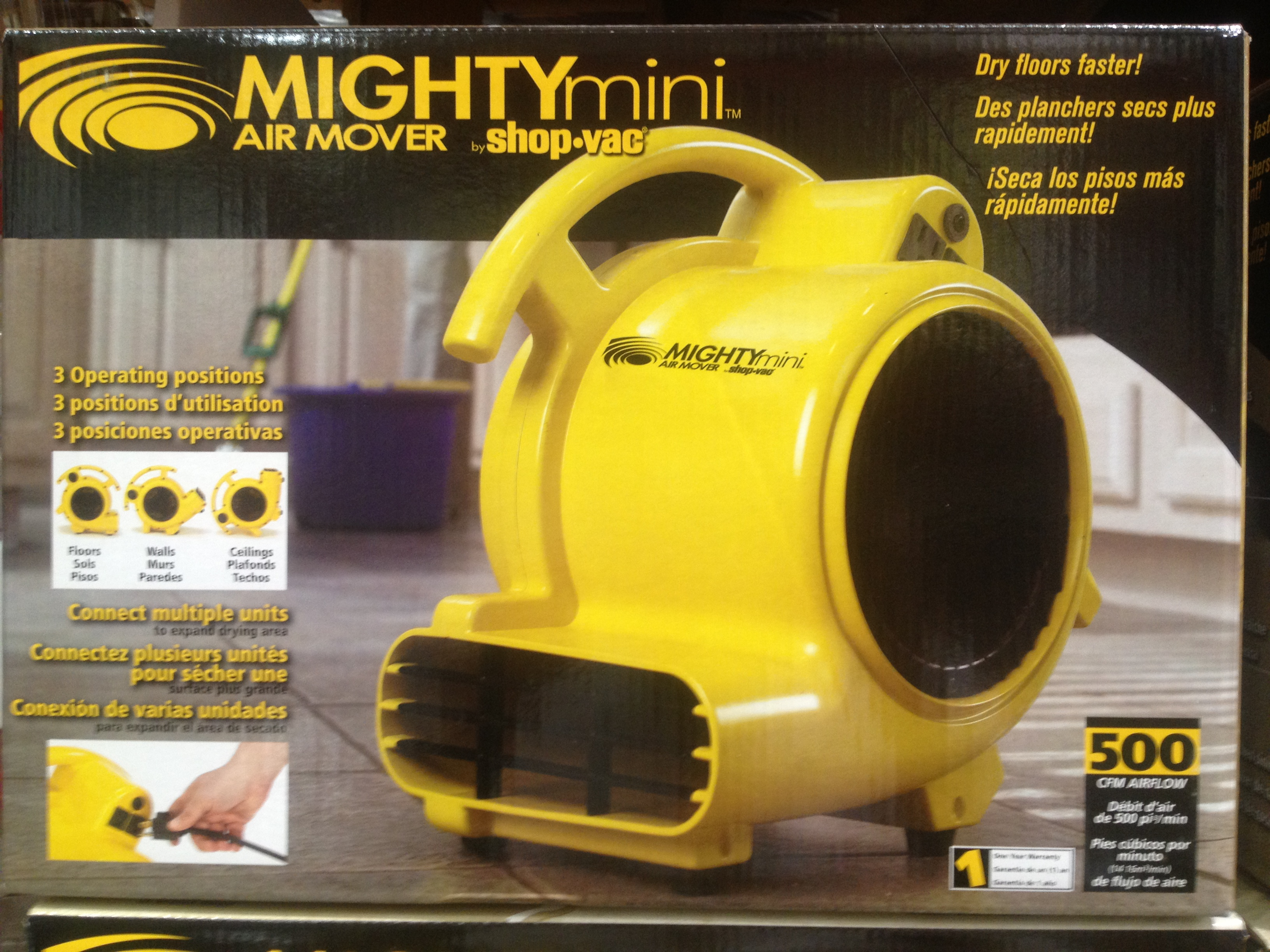 Costco  item number 684584  ShopVac 3 Speed Mighty Mini