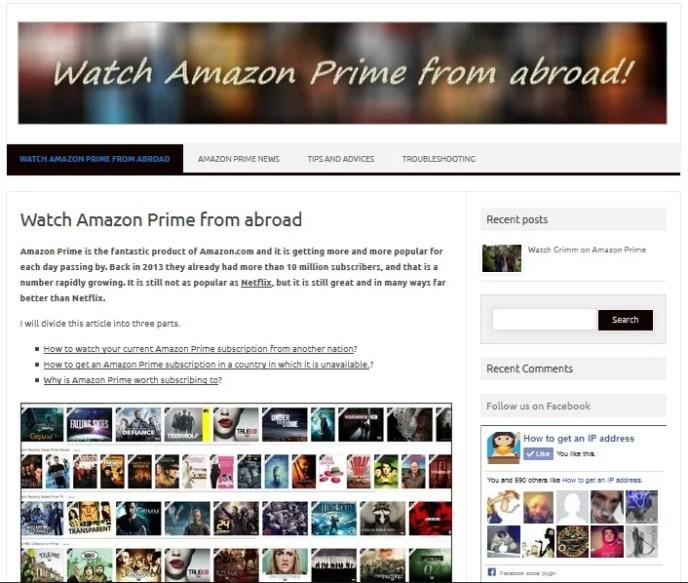 Amazon Prime is now online
