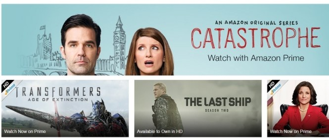 Instant Amazon Videos abroad