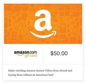 American Card required on Amazon Instant Videos