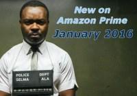 new on amazon prime january 2016