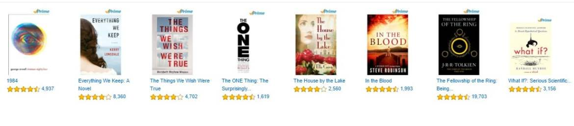 Great new Prime Reading titles on Amazon