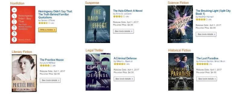 Free Prime books march 2017