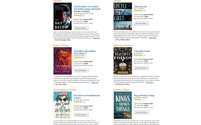Prime Books July 2017