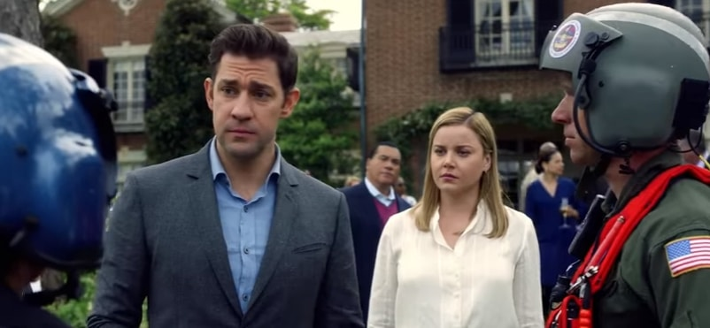Jack Ryan has a hard time explaining his job to his loved ones