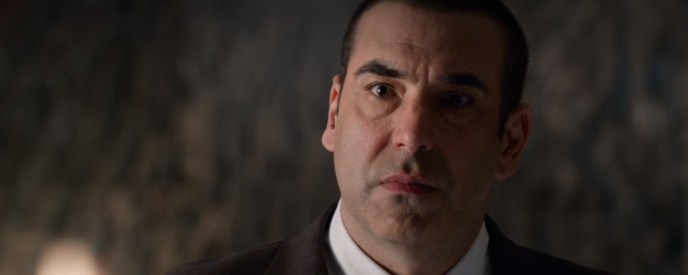 Louis Litt, much younger than he is now (from a scene in Suits season 3)