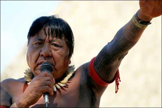 Chief Megaron Txucarranãe