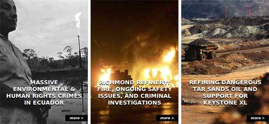 Tell the Chevron board of directors to fire CEO John Watson.