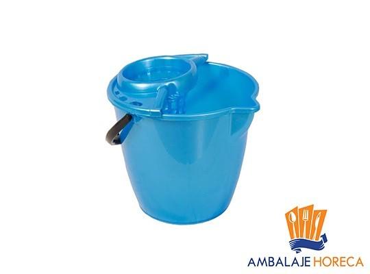 Galeata din plastic pentru mop rotunda