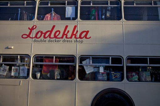 Lodekka-Dress-Shop-Bus 'Keeping it weird' in Portland