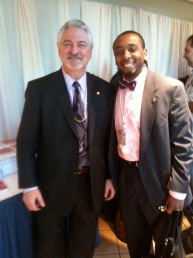 Ivan Misner and @AmbassadorBruny