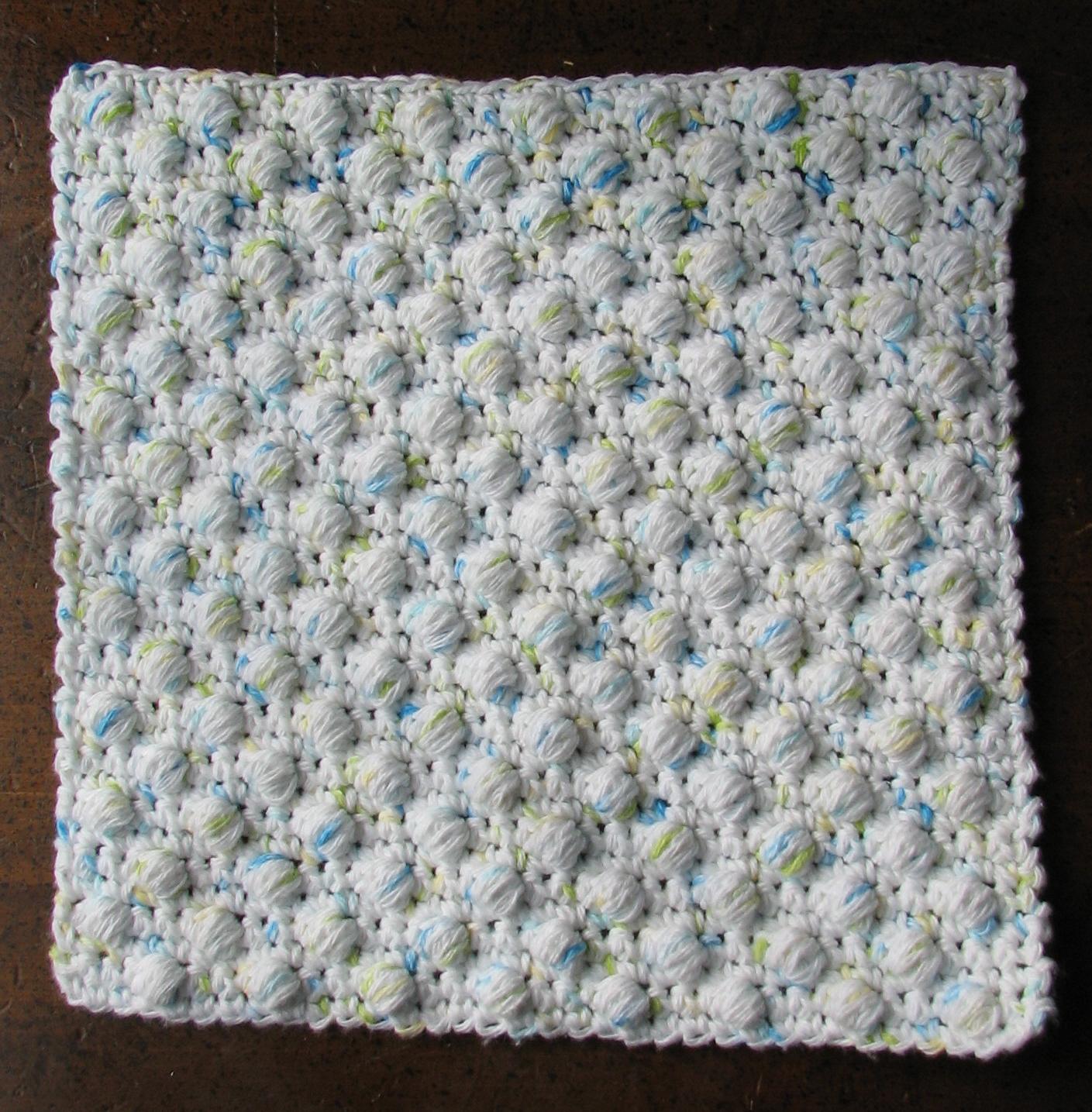 Washcloth tawashi dishcloth patterns roundup ambassador crochet crochet dishcloth patterns free ball stitch pattern by ambassador crochet bankloansurffo Gallery