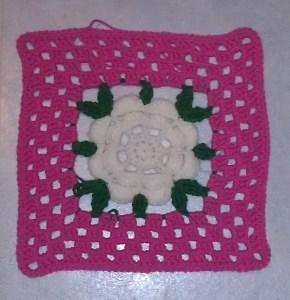 American Beauty Rose Free Crochet Pattern