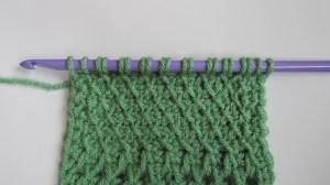 Slanted Tunisian Stitch