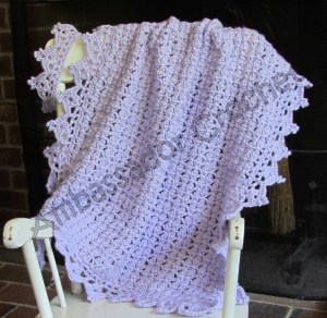 Once Upon A Time Afghan & Crown Crochet Pattern Set