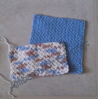 Grit Stitch Dishcloths