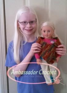 Rachael's doll shawl logo