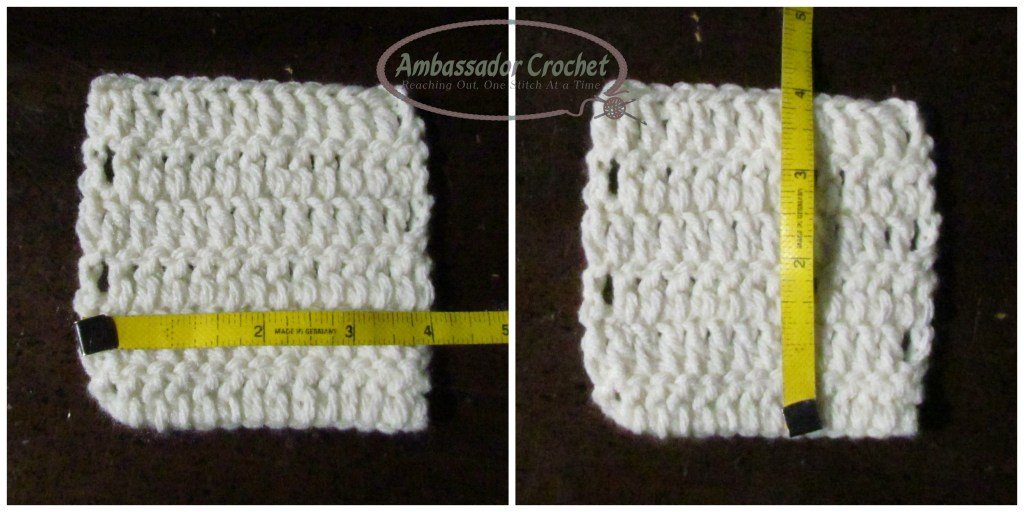 Your crochet gauge is important and here's why...