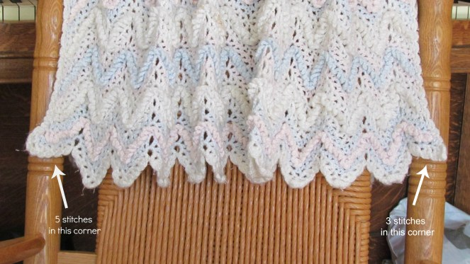 The #1 reason you need to keep your first crochet project. I still have my very first crochet project - a ripple baby afghan.