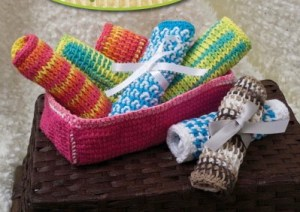 Tunisian Crochet for Baby Sharon Silverman