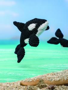 crochet orca whale