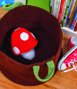 Toys and Books Basket