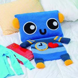 Robot Pajama Holder
