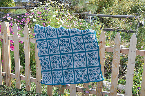 Elisha Afghan - Fair Isle Tunisian Crochet book review