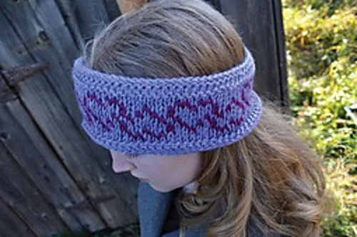 Emily Headband - Fair Isle Tunisian Crochet book review
