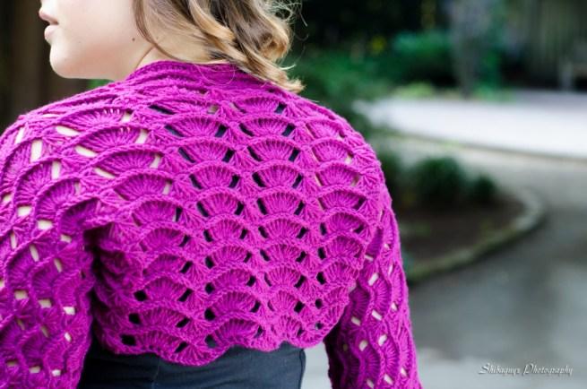 Sleeve Shrug - Crochet Geometry