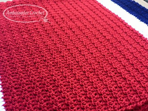 Jacob's Prayer Blanket crochet pattern - $3.50 crochet pattern by Ambassador Crochet