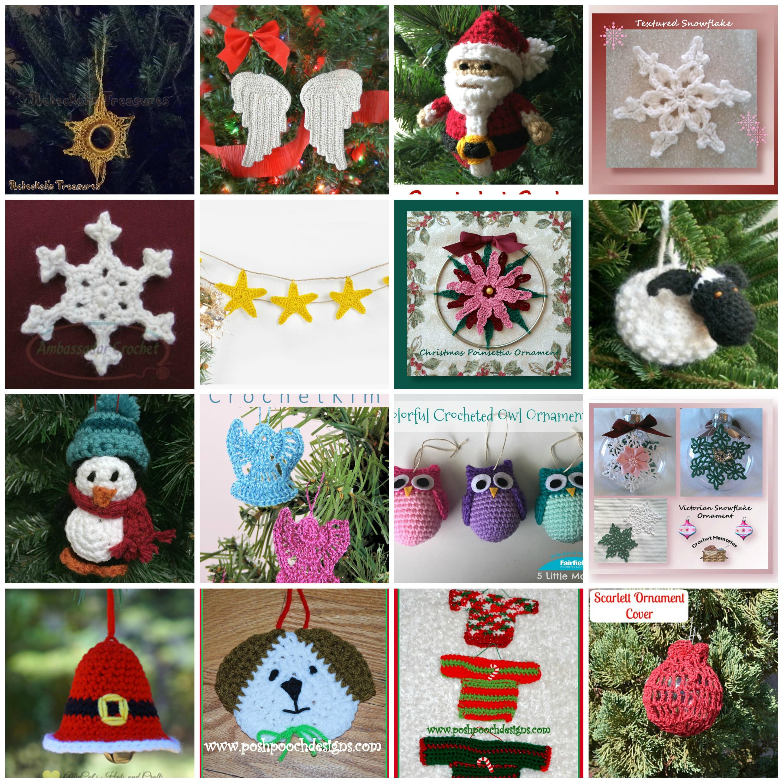 Christmas Tree Ornament Pattern Roundup Ambassador Crochet