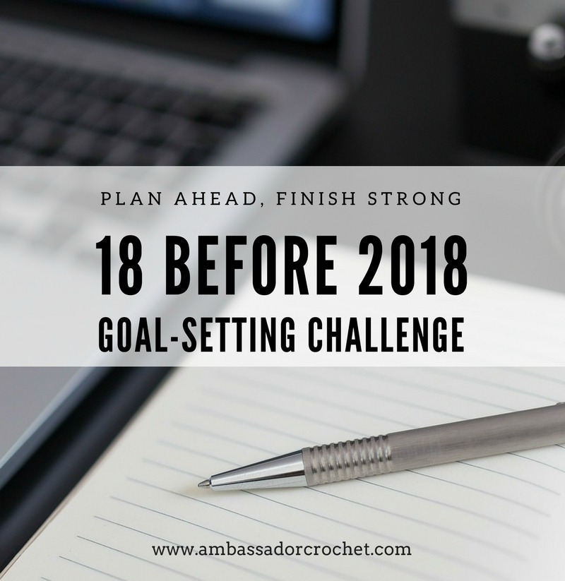 18 before 2018 - Goal Setting Challenge - 18 tasks to complete before 2018 gets here!