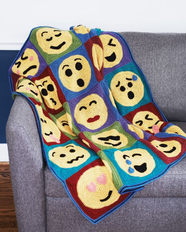 Everyone loves emojies and now there is Emoji Crochet. Check out the book review by Ambassador Crochet.