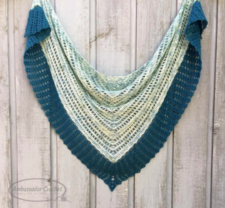 Breath of Life shawl CAL by Ambassador Crochet