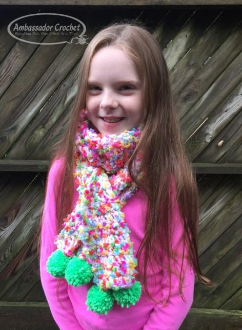 Fun Tastic Kids Scarf Crochet Pattern Ambassador Crochet