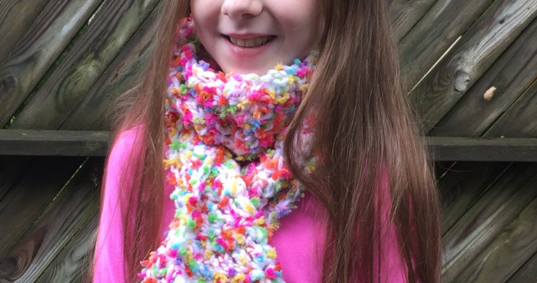Fun-tastic Kid's Scarf Crochet Pattern