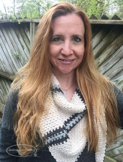 Boardwalk Shawlette CAL by Kristine Mullen / Ambassador Crochet - free crochet pattern