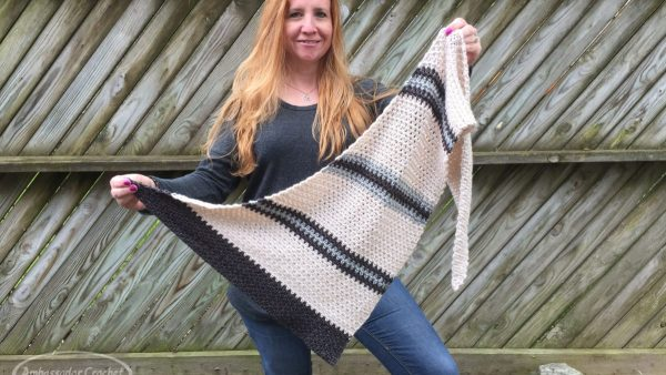 Boardwalk Shawlette CAL by Ambassador Crochet