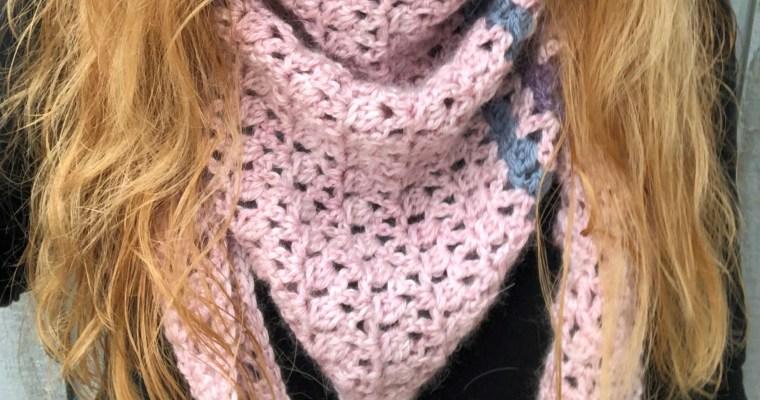 Stella Triangular Scarf Crochet Pattern