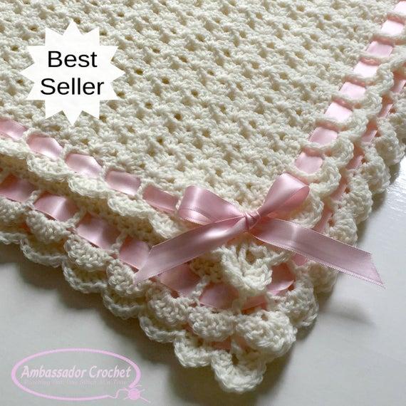 Pemberley Heirloom Baby Blanket Crochet Pattern PDF 253