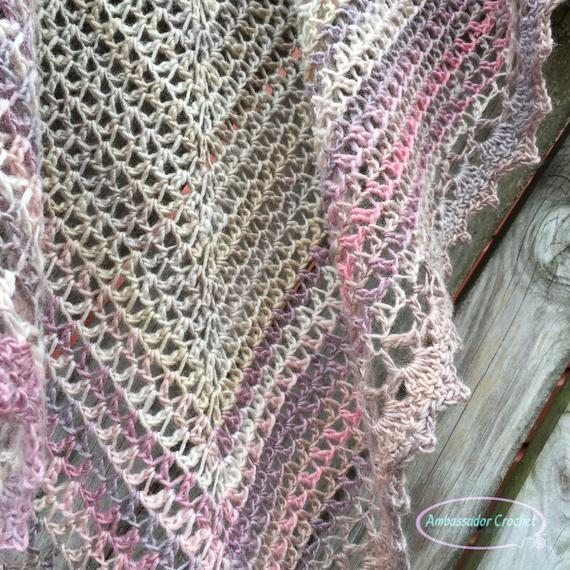 Prayer Shawl Crochet Pattern Hope Whispers Shawl PDF 293