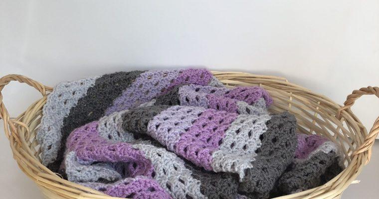 Neapolitan Dreams Baby Blanket – Free Crochet Pattern