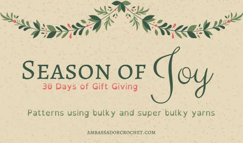 30 Days of Gift Giving – Quick Patterns for the Holidays