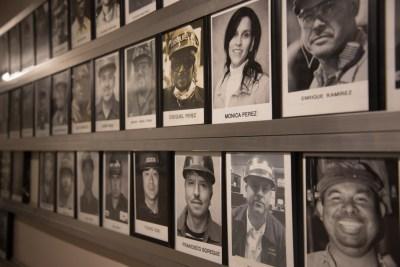 ABI Foundry employee photo wall