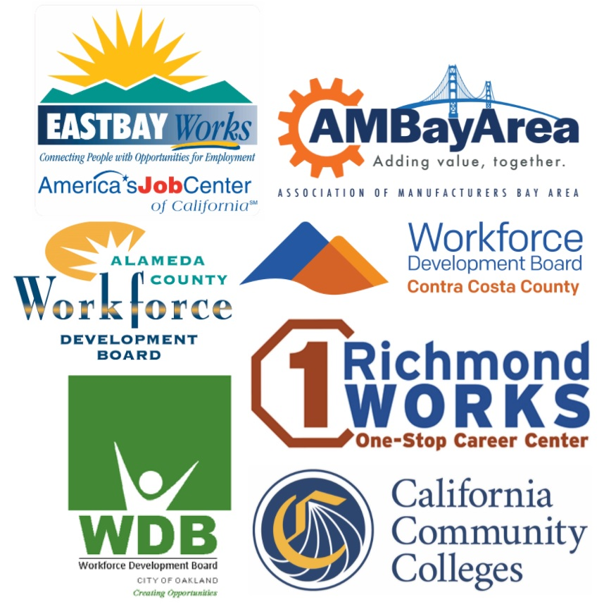 EASTBAYWorks Workforce Development Boards logos