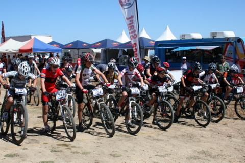 Start U15 MTB Nats 2012