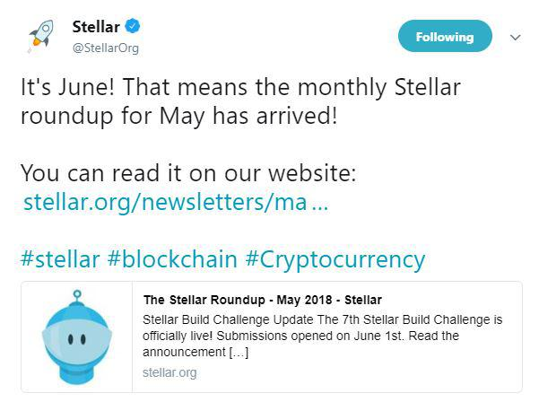 Stellar's announcement about SBC